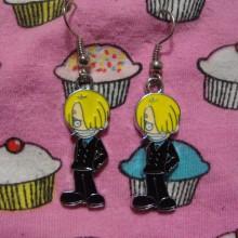 One Piece Earrings Sanji Set 2