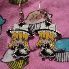 Touhou Project Earrings Marisa Kirisame