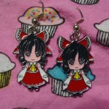 Touhou Project Earrings Reimu Hakurei