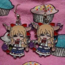 Touhou Project Earrings Suika Ibuki