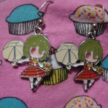 Touhou Project Earrings Yuka Kazami