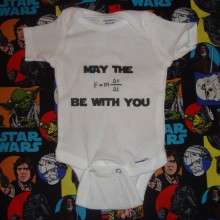 may the force be with you onesie