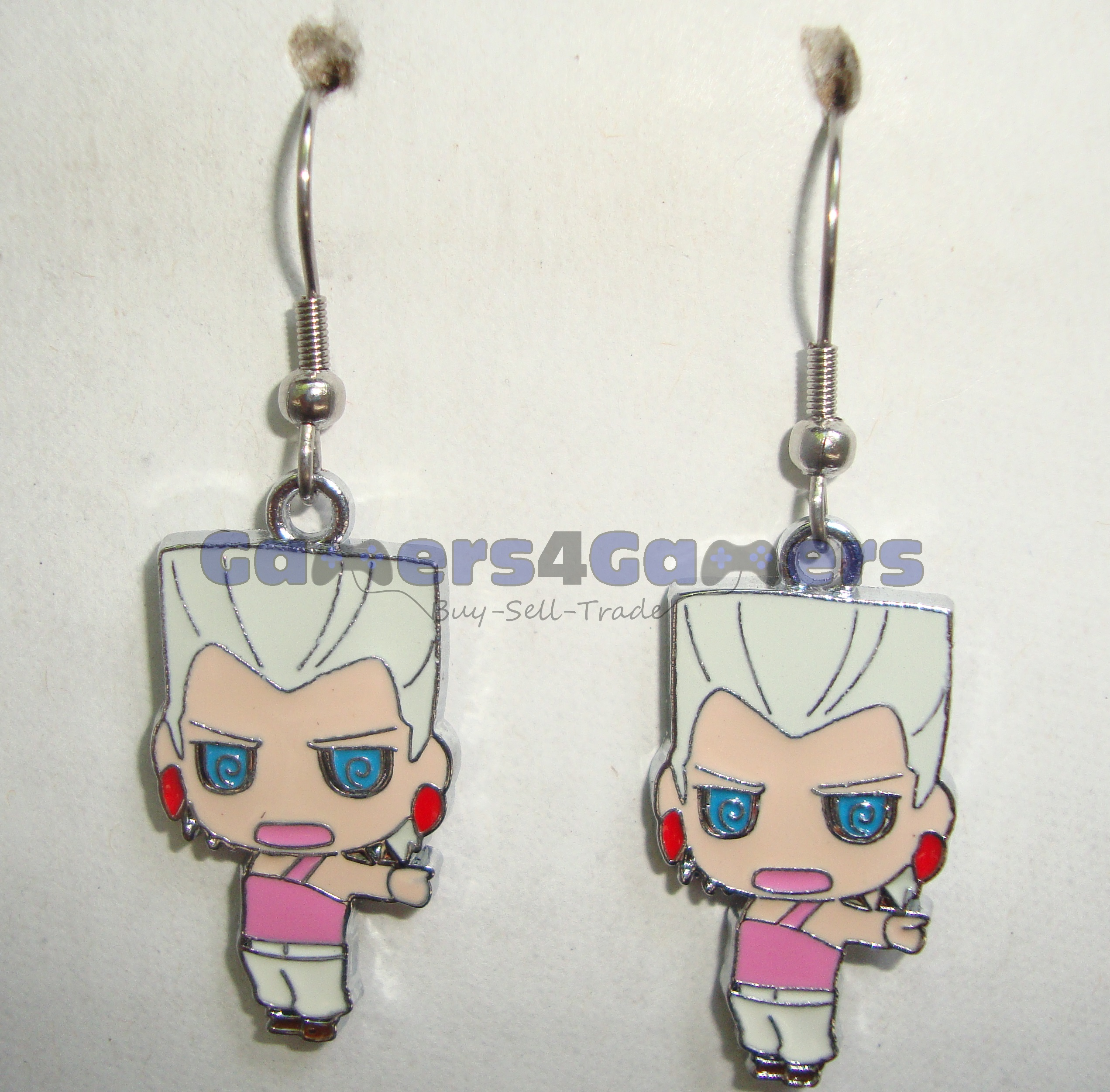 Jojo S Bizarre Adventure Jean Pierre Polnareff Earrings