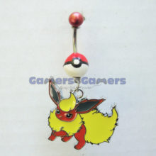 flareon belly ring